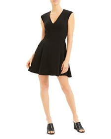 Theory - Sleeveless Fit-and-Flare Dress