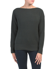 Reveal Designer Bateau Neck Sweater