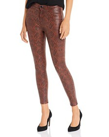 J Brand - Alana High Rise Cropped Skinny Jeans in