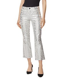 J Brand - Selena Mid-Rise Crop Bootcut Jeans in Sn