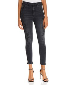 7 For All Mankind - Aubrey High-Waist Ankle Skinny