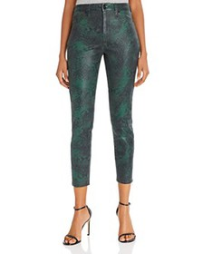 7 For All Mankind - High-Waist Ankle Skinny Jeans