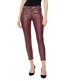 J Brand - Mid-Rise Coated Jeans in Bittersweet Shi