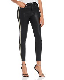 7 For All Mankind - High-Waisted Ankle Skinny Side