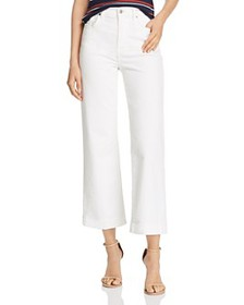 7 For All Mankind - Alexa Cropped Wide-Leg Corduro