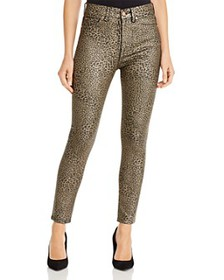 7 For All Mankind - High-Waisted Ankle Skinny Jean