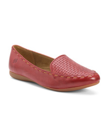 BORN Comfort Leather Flats