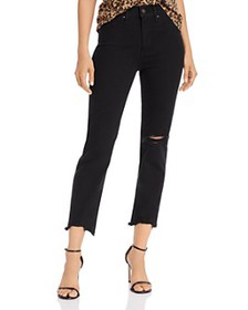 Levi's - 724 High-Rise Cropped Straight-Leg Jeans