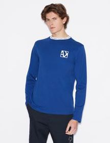 Armani LONG-SLEEVED, REGULAR-FIT SWEATER