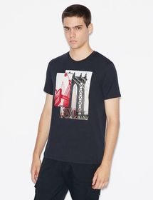 Armani SLIM-FIT PIMA COTTON T-SHIRT