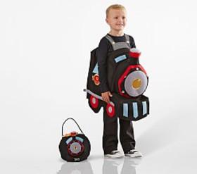 Pottery Barn 3D Train Costume