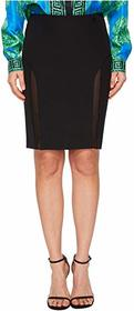 Versace Jeans Couture Sheer Panel Skirt