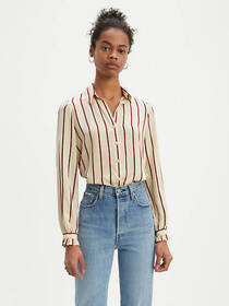 Levi's Striped Marcey Top