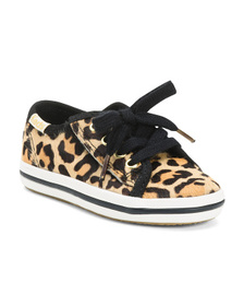 KEDS Haircalf Leopard Sneakers (Toddler)