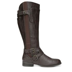LifeStride Women's Fallon Medium/Wide Riding Boot