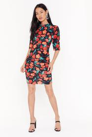 Nasty Gal Womens Blue Anything Bud the Truth Flora