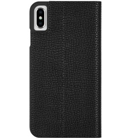 Case-Mate iPhone Xs Max Barely There Folio Black C