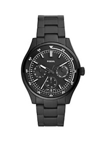Fossil Belmar Multifunction Black-Tone Stainless S