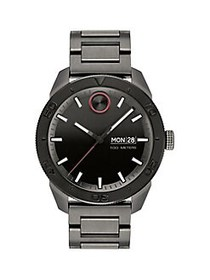 Movado BOLD Ionic-Plated Gunmetal Stainless Steel