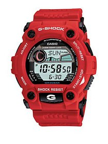 G-Shock Men's Rescue Red Strap Watch RED