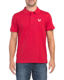 TRUE RELIGION Crafted With Pride Polo