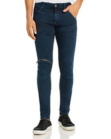 G-STAR RAW - 5620 3-D Zip-Knee Skinny Fit Jeans in
