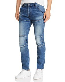 G-STAR RAW - 5620 3-D Slim Fit Jeans in Vintage Az