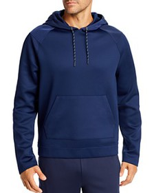 Michael Kors - Mixed-Media Scuba Hooded Sweatshirt