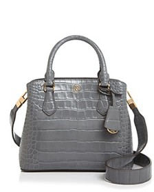 Tory Burch - Robinson Embossed Small Leather Satch