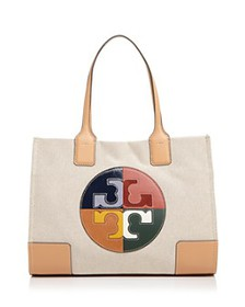 Tory Burch - Ella Color-Block Logo Small Fabric To