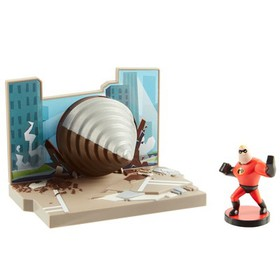 Incredibles 2 Drill Attack Playset with Mr. Incred