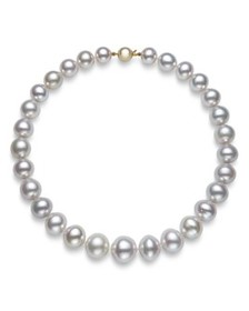 Bloomingdale's - White South Sea Pearl Collar Neck