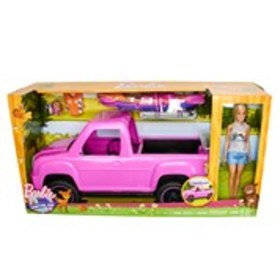 BARBIE Barbie Camping Fun Doll & Vehicle Playset