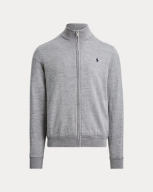 Ralph Lauren Merino Wool Full-Zip Sweater