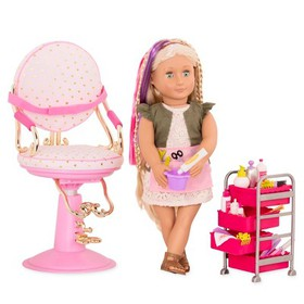 Our Generation Deluxe Hairplay Set with Pia Doll