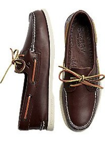 Sperry Top-Sider Brown Boat Shoes