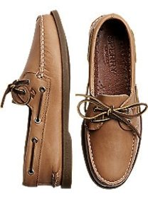 Sperry Top-Sider Tan Boat Shoes