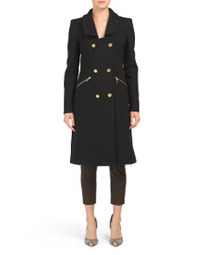 JUST CAVALLI Made In Italy Wool Coat