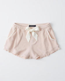 Cozy Ribbed Shorts, LIGHT PINK