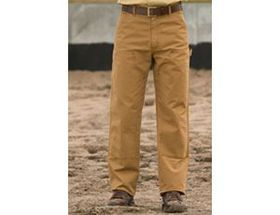 Carhartt Washed-Duck Double-Front Work Pants for M