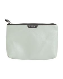 LODIS Leather Zip Pouch