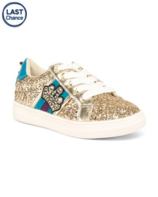 NINA Glitter High Wall Sneakers (Toddler)