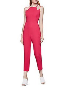 BCBGeneration Abstract Jumpsuit HOT PINK