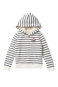 Roxy All My Life Striped Hoodie (Big Girls)