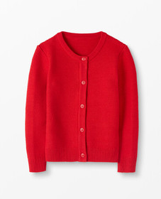 Hanna Andersson Classic Cardigan in Hanna Red - ma