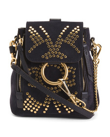 reveal designer Made In Italy Faye Stud Leather Mi