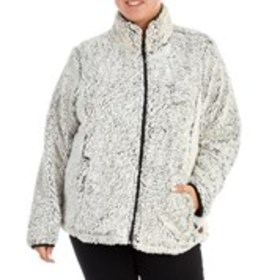 FREE COUNTRY Plus Size Frosted Sherpa Fleece Activ