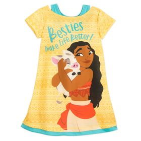 Disney Moana and Pua Nightshirt for Girls