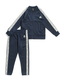 REEBOK Little Boys 2pc Track Suit Set