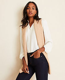 Ribbed Sweater Vest